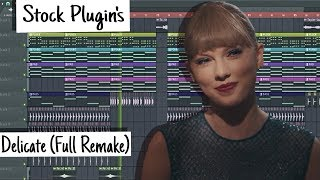 Taylor Swift - Delicate (FL Studio) [Remake]