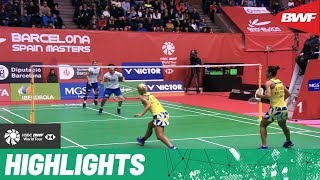 Barcelona Spain Masters 2020 | Finals WD Highlights | BWF 2020