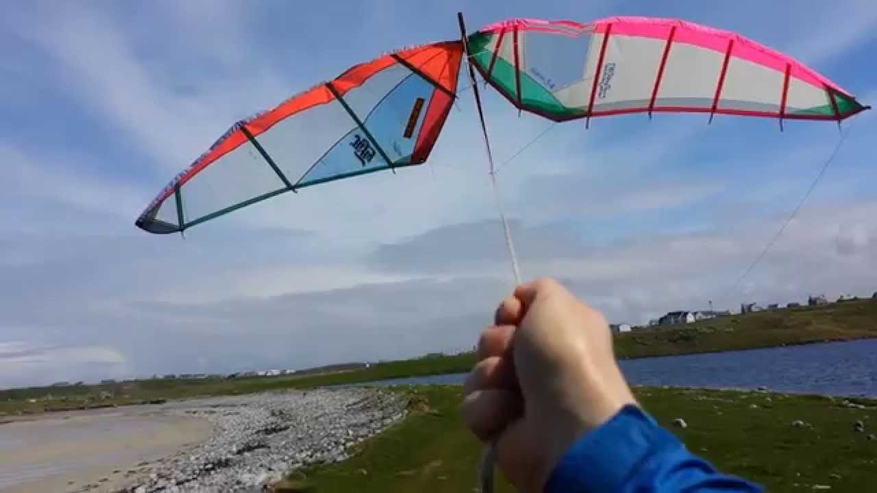 Arch from windsurf sails