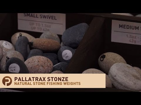 Natural Stone Fishing Weights And Sinkers - Pallatrax Stonze