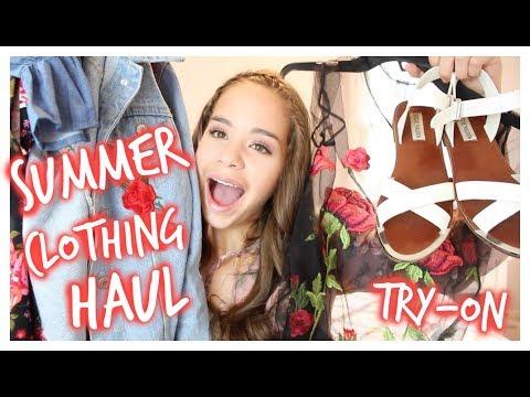 HUGE Trendy Try-On Summer Clothing Haul! 2017