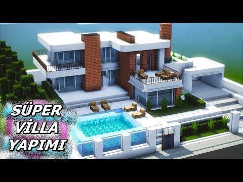 Süper Villa Yapımı - Minecraft Ülke Kuruyoruz #96