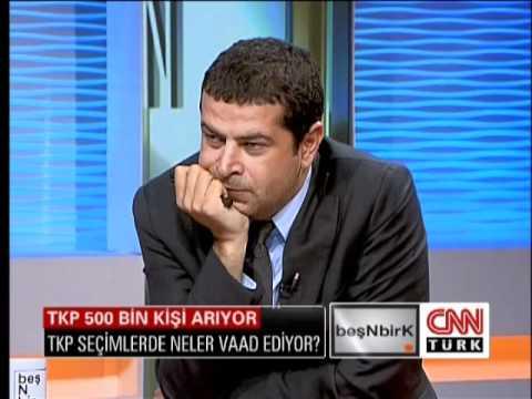 TKP Genel Başkanı Erkan Baş beşnbirk'da