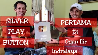 VLOG - SILVER PLAY BUTTON DJ GUNTUR JS DARI YOUTUBE! SILVER PLAY BUTTON PERTAMA DI INDRALAYA