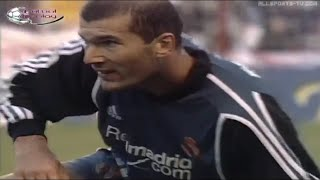 ZIDANE VS RAYO VALLECANO (25/11/2001)