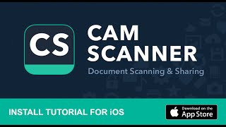 How To Install and Use CamScanner on iOS screenshot 4