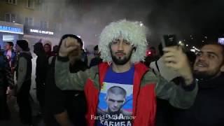 Фанаты Хабиба Нурмагомедова в Махачкале перед боем против Конора UFC 229 Khabib vs McGregor