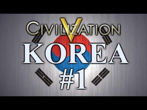 Sejong - Korea | Civilization 5 | Episode 1 |
