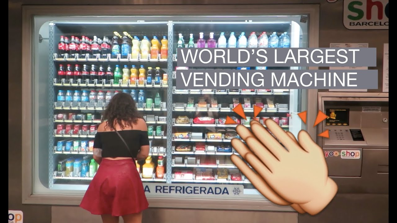 world largest vending machine