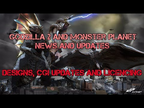 GODZILLA 2 AND ANIME NEWS: MONSTER / CGI DESIGNS / LICENCE EXPO!