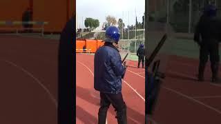 بالفيديو.. اشتباكات بين الجماهير في نصف نهائي كأس الجزائر