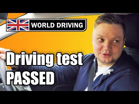 Driving Test PASSED - You Can Do It Too!
