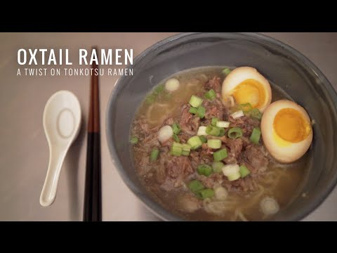 Oxtail Ramen - YouTube