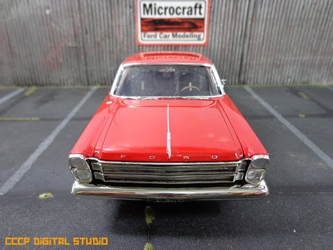 Built Kit Review: 1966 Ford Galaxie Special!!!!