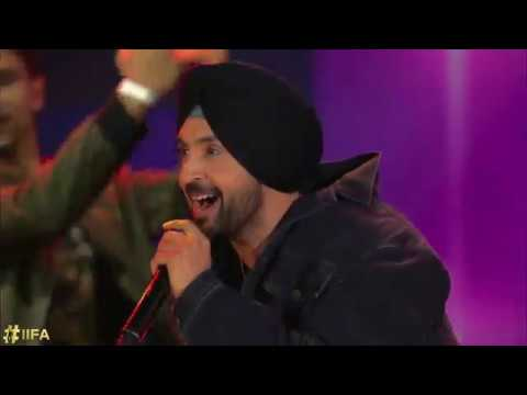 Diljit Dosanjh's performance at the IIFA Rocks 2017