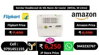 Kenstar Doublecool dx 50L Room Air Cooler (White, 50 Litres)