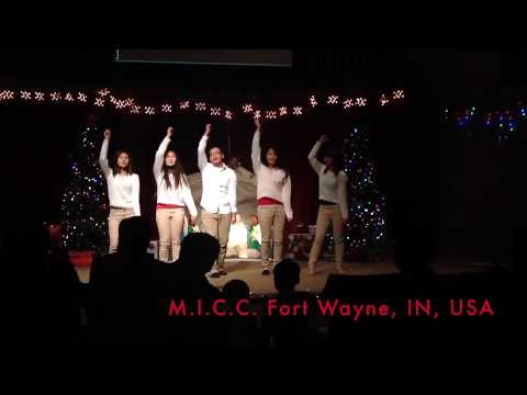 Myanmar Christmas Action Song by MICC