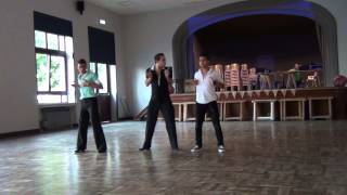 Show Jose Miguel Belloque Vane, Daniel Trepat and Roy Hadisubroto