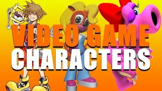 Nick Tries to Name Video Game Characters - Nick Names