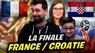 FRANCE vs CROATIE - FINALE COUPE DU MONDE 2018 - FIFA 18