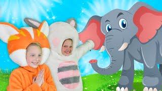 Веселая Дорога | Песни для Детей | Чух Чух ТВ