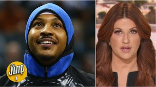 I promise you: Carmelo Anthony won't take his Blazers chance for granted - Rachel Nichols | The Jump