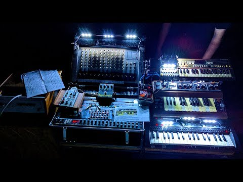Sonik Chamber #2, Benoit Gilles, experimental electronic music live without computer