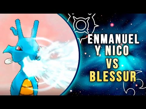 """POKÉMON SOL & LUNA COMBATE ONLINE: ENMANUEL & NICO vs BLESSUR, """"ESCALDAR""""!"""