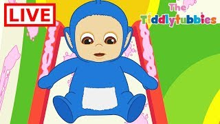 🔴 LIVE Teletubbies ★ NEW Tiddlytubbies LIVE Cartoons ★ New Cartoon Episodes 1-3 ★ Cartoons for Kids