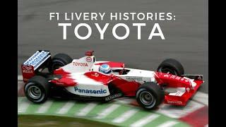 F1 Livery Histories: TOYOTA