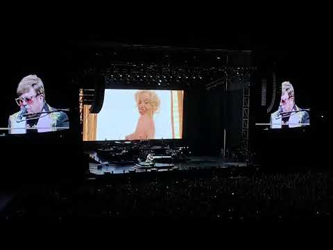 Elton John Perth Hbf Park 30/11/19 Candle In The Wind