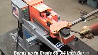 Cutting Rebar with Fascut FS-600 Rebar Cutter / Bender