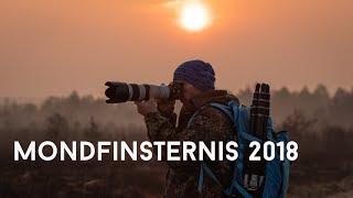 Mondfinsternis 2018 fotografieren - 52 Wochen Challenge 25