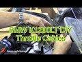 Bmw K1200lt Diy Throttle Cables Replacement