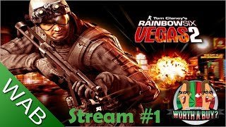 Rainbow Six Vegas 2 Coop Stream #1 - 4 Player Coop Fun