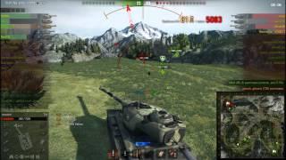 Как играть на Т34 на карте перевал. 7к урона, воин, снайпер