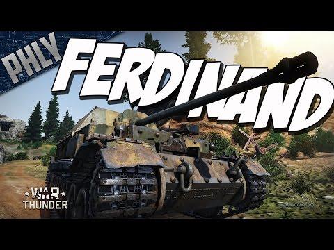 ELEFANT STAMPEDE - Ferdinand Tank Destroyer (War Thunder Tanks Gameplay)