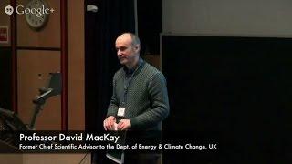 Professor Sir David MacKay #SRMS15 Presentation