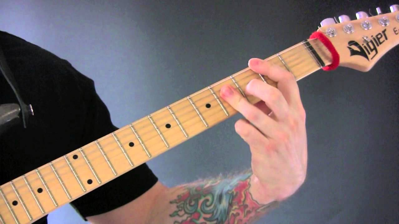 how to play movin out on guitar