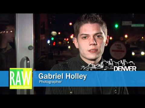 Gabriel Holley At RAW: Denver