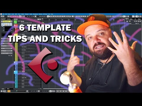 Cubase Tutorial: 6 Rock Template Tips and Tricks
