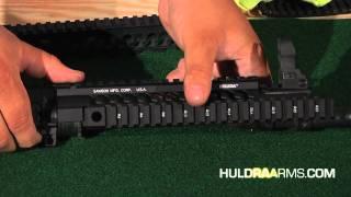 Huldra Samson Star C Free Float Rail Install