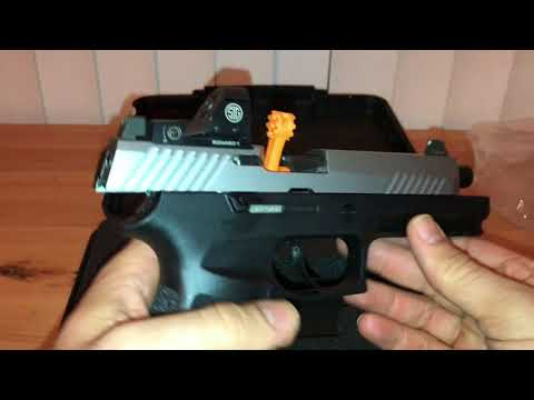 Sig Sauer P320 RX Voluntary Upgrade Complete