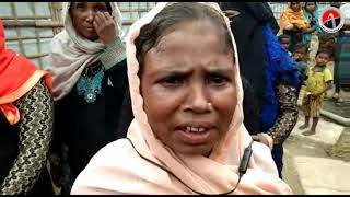 Rohingya refugee women expressing strong reluctance to go back since the situation is not conducive