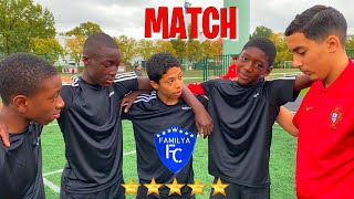 FC FAMILYA JUNIOR : NOTRE PREMIER MATCH REEL
