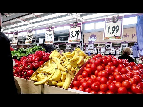 AUSTRALIA Food Prices (Fruits And Vegetables) In Melbourne Market