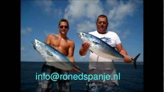 Roned Sportfishing Middellandse Zee Tonijn - Tuna - Ebro Meerval - Catfish