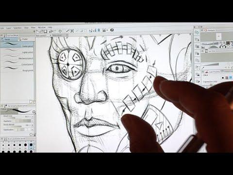 Advance Figure Drawing Tutorial 6/6 by Riven Phoenix