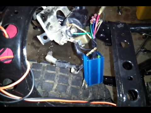 Yamaha    Stroke Burnt Ground Wires