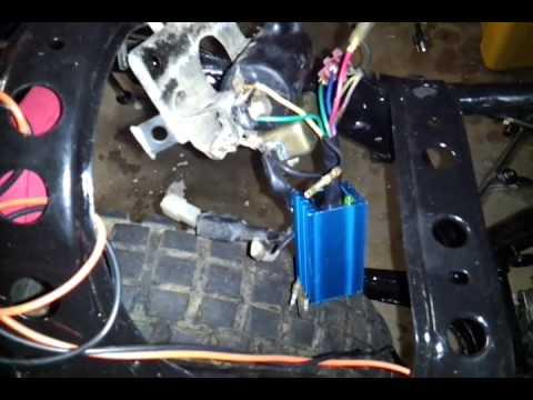 CDI wiring Honda  YouTube